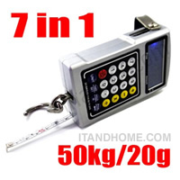 50KG/20g Multifunction Electronic Fishhook Digital Weight Scale DIC0012