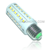 ไฟ LED 8W 360 องศา 44 LED SMD Corn Light Bulb Lamp - E27 สี warm white LEDTO-LBC8WW