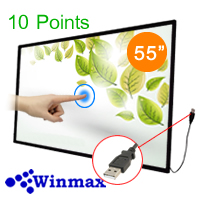 Infrared Touch Screen 55 inch 10 touch